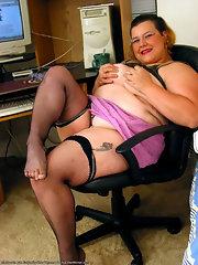 Fat Women In Stockings
