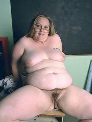 Fat mature snatch